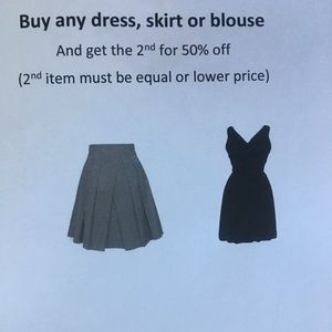 Dresses & Skirts - SALE! Dresses, skirts and blouses!!